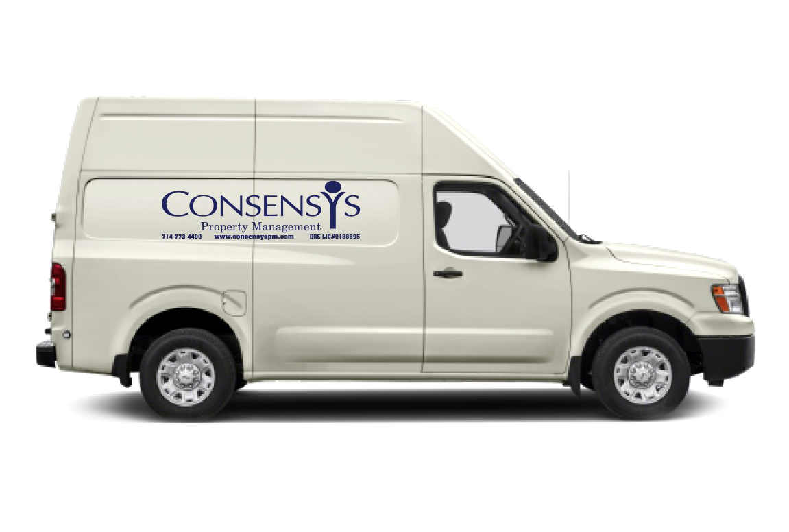 Consensys Property Management Truck